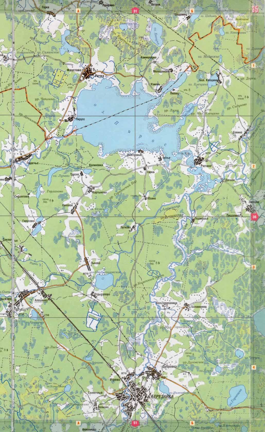 рыбалка в новгородской области на карте