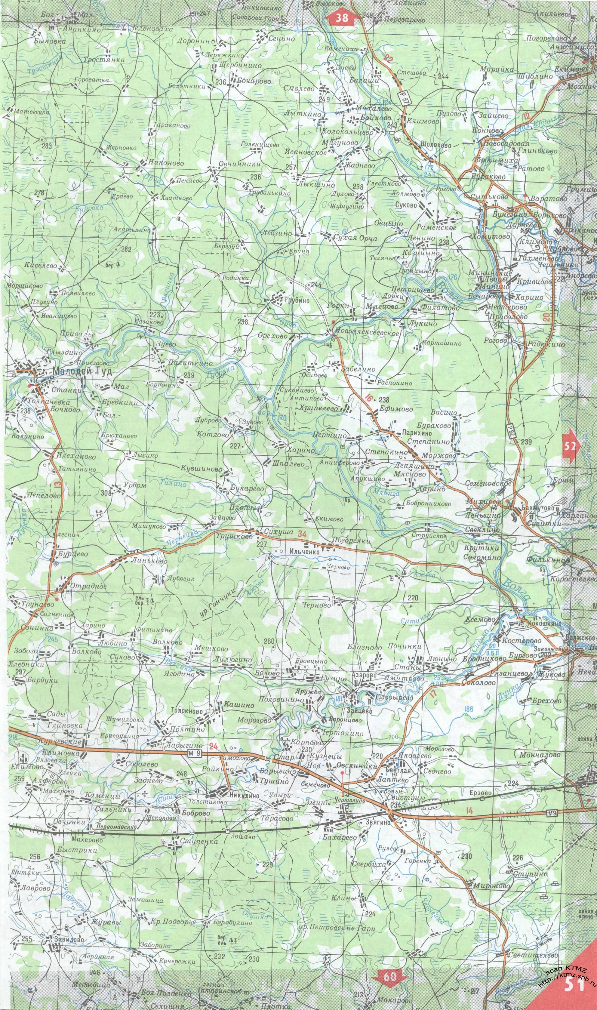 карта тверской области 44 года поздравление выходом